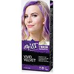 Splat 1 Wash No Bleach Hair Color Kit Vivid Velvet