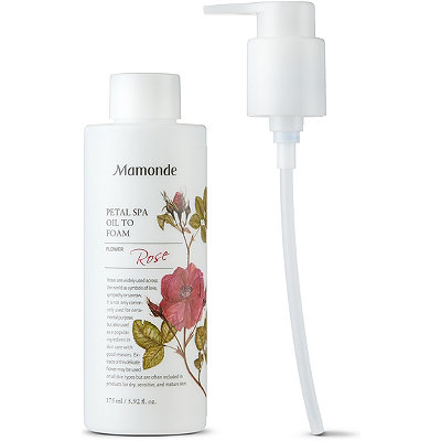 MamondePetal Spa Oil to Foam Cleanser