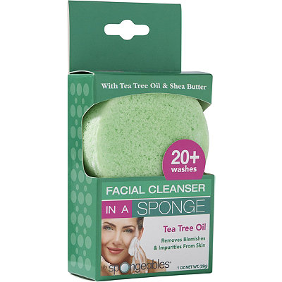 Facial Cleanser in a Sponge 20+