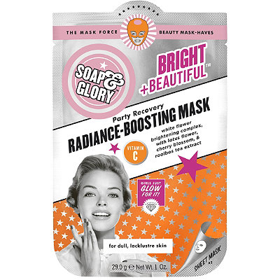 Bright +Beautiful Party Recovery Radiance-Boosting Mask