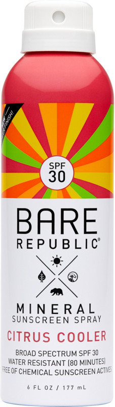 Mineral Citrus Cooler Continuous Spray Spf 30 by Bare Republic