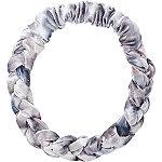 Blue Braided Velvet Headband