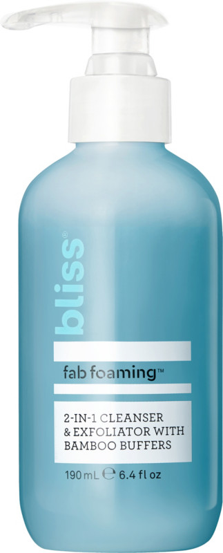 bliss face wash