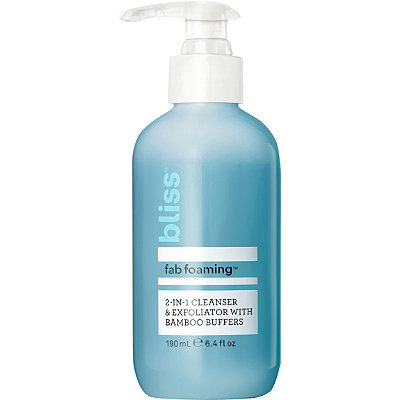Fab Foaming 2-In-1 Cleanser