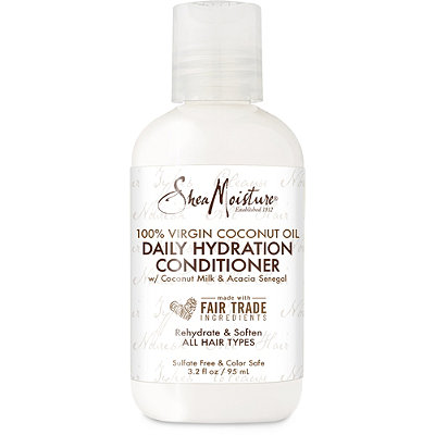 Travel Size 100% Virgin Coconut Oil Daily Hydration Conditioner