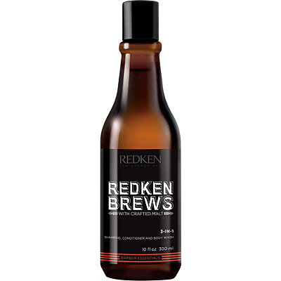 RedkenBrews 3-In-1 Shampoo, Conditioner and Body Wash