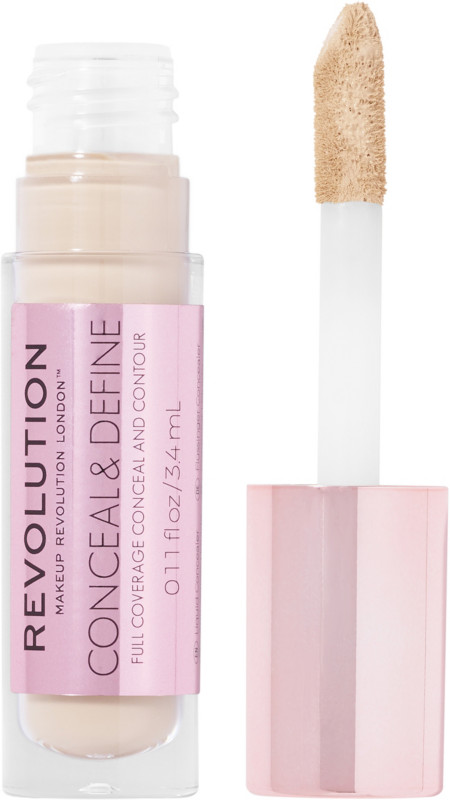 Makeup Revolution Conceal & Define Full Coverage Concealer