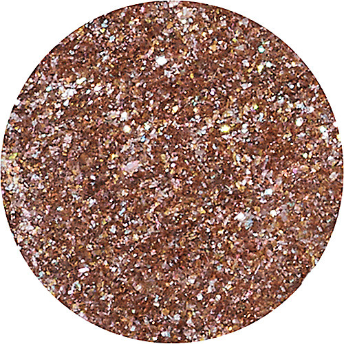 Piece of Cake (brown w/silver & gold sparkle)