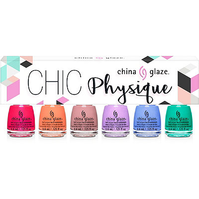 China GlazeOnline Only Chic Physique 6 pc Micro Mini Nail Kit