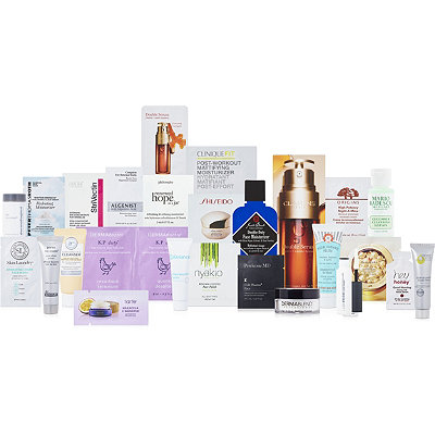 Online OnlyFREE 26 Pc Skincare Sampler with any $70 skincare purchase