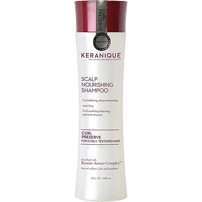 Curl Preserve Scalp Nourishing Shampoo For Curly, Textured Hair