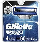 Gillette Mach3 Turbo Refill Cartridges
