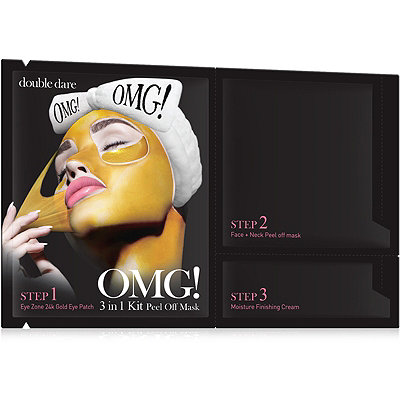 Double DareOnline Only OMG! 3 in 1 Kit Peel Off Mask