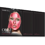 Double Dare Online Only OMG! Platinum Facial Mask Kit Hot Pink