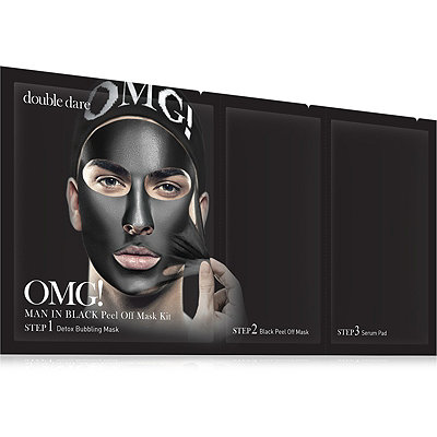 Double DareOnline Only OMG! Man In Black Peel Off Mask Kit