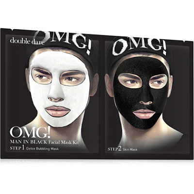 Online Only OMG! Man In Black Facial Mask Kit