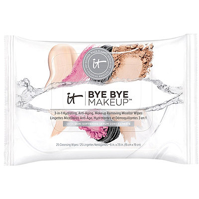 Bye Bye Makeup 3-in-1 Hydrating, Anti-Aging, Makeup Removing Micellar Wipes