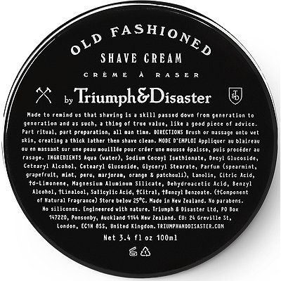 Triumph & DisasterOnline Only Old Fashioned Shave Cream Jar