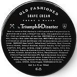 Triumph & Disaster Online Only Old Fashioned Shave Cream Jar