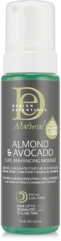 Natural Almond Avocado Curl Enhancing Mousse