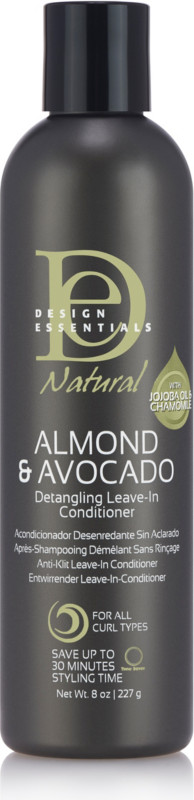 Design Essentials Natural Almond And Avocado Detangling Leave In