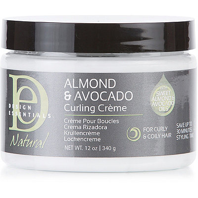 Natural Almond & Avocado Curling Crème
