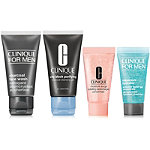 Free Treat! Receive a 4 Pc Gift w/any $50 online Clinique purchase