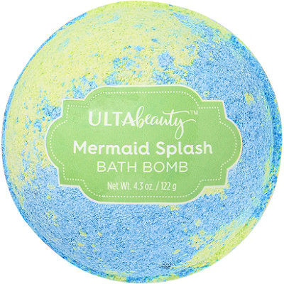 Mermaid Splash Color Marble Bath Bomb