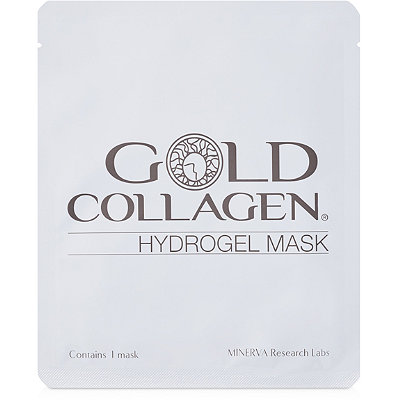 MinervaOnline Only FREE Gold Collagen Hydrogel Mask w/any Minerva Pure Gold Collagen purchase