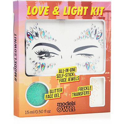 Emerald Goddess Love & Light Festival Face Kit