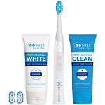 Go Smile Sonic?Blue Smart Brush Whitening Kit