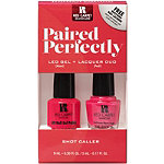 Paired Perfectly LED Gel and Lacquer Mani Pedi Duo