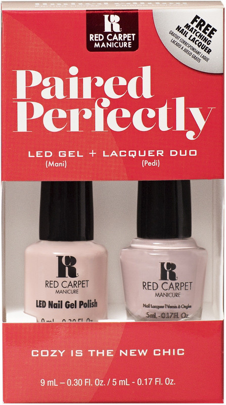 Red Carpet Manicure Paired Perfectly LED Gel and Lacquer Mani Pedi ...