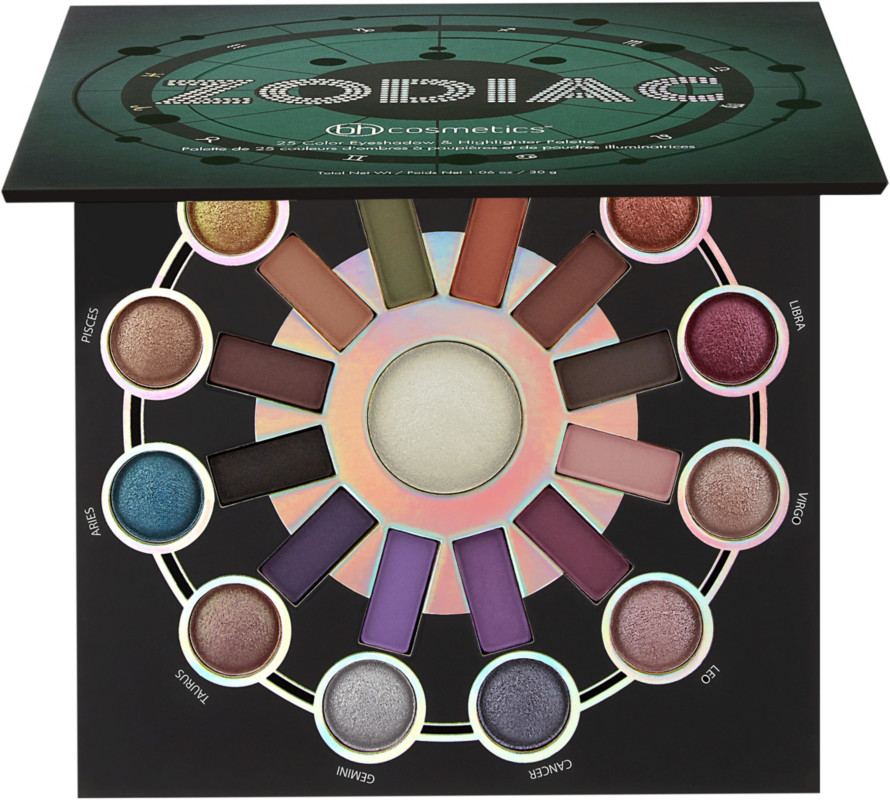 Zodiac 25 Color Eyeshadow &Amp; Highlighter Palette by Bh Cosmetics