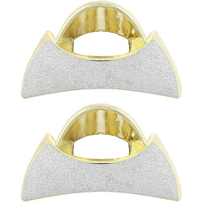 Abstract Shaped Claw Clips-2 Piece