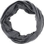 Grey And Metallic Jersey Multi Wear Headwrap