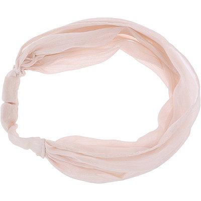Dusty Pink Chiffon Headwrap