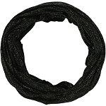Black And Metallic Jersey Mutli Wear Headwrap