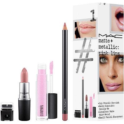 Matte + Metallic Pink Lip Kit / Instant Artistry