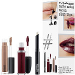MAC Matte Makes Metal Plum Lip Kit / Instant Artistry