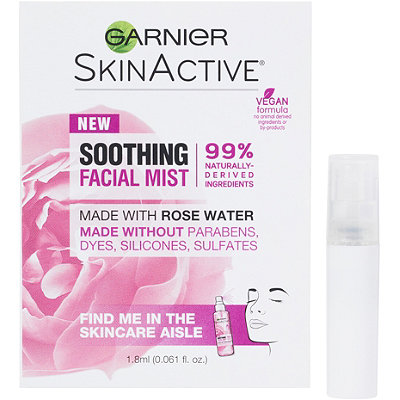 FREE Deluxe Rose Water Facial Mist w/any Garnier Skincare purchase