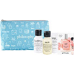 FREE 4 Pc Gift and Bag w/any $50 Philosophy Skincare or Color purchase