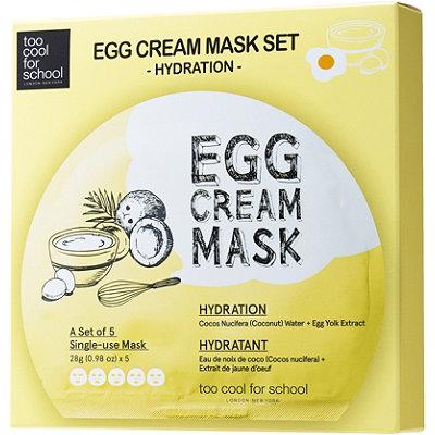 Egg Cream Mask Hydration Set