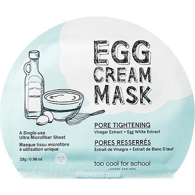 Egg Cream Mask Pore Tightening