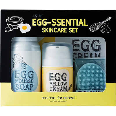 Egg-ssential 3-Step Skincare Set
