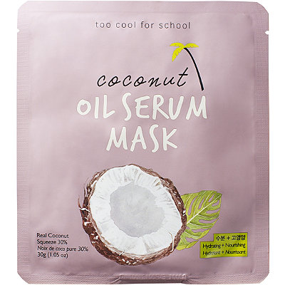 Coconut Oil Serum Mask