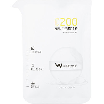 Online Only C200 Bubble Peeling Pad for Face