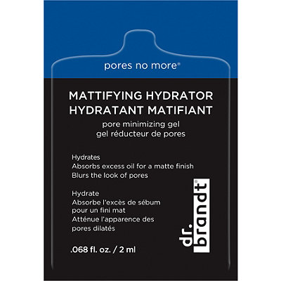 FREE Pores No More Mattifying Hydrator w/any Dr. Brandt purchase