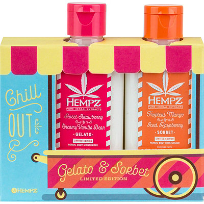 CHILL OUT Limited Edition Gelato & Sorbet Herbal Body Moisturizer Set