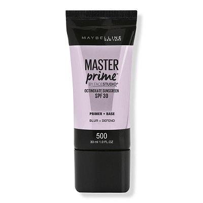 FaceStudio Master Prime Blur + Defend Primer